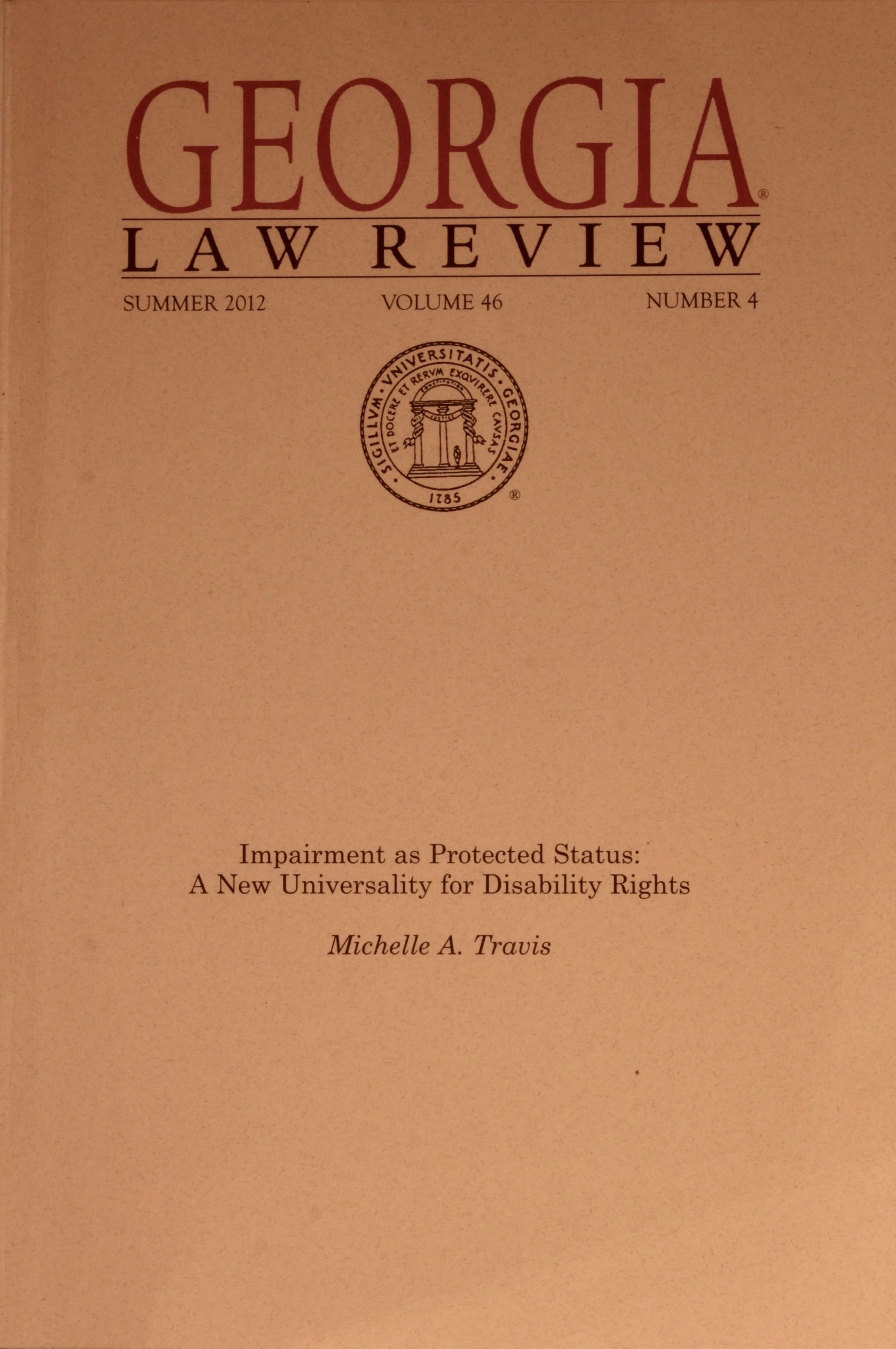 Georgia Law Review