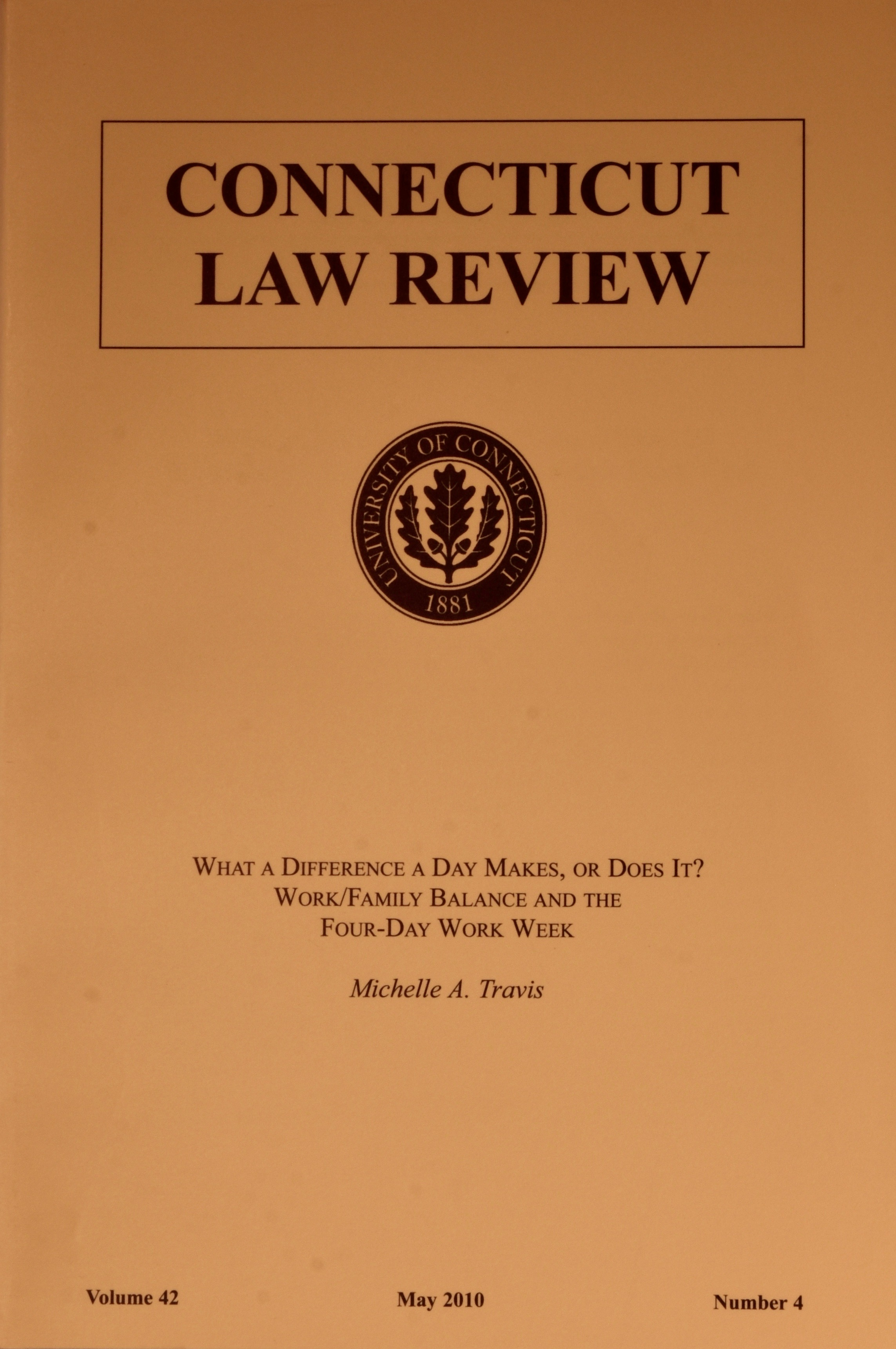 Connecticut Law Review
